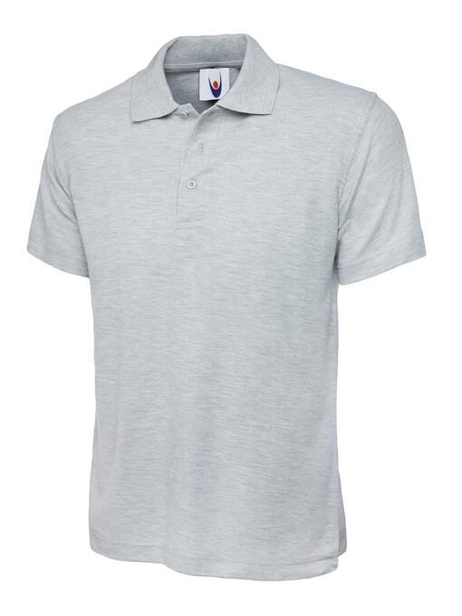 UC101 classic polo heather grey
