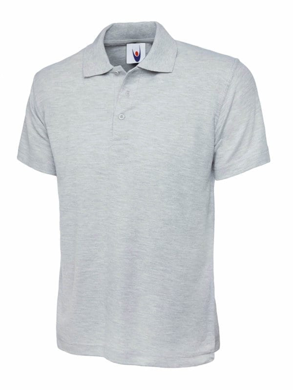 UC101 classic polo heather grey
