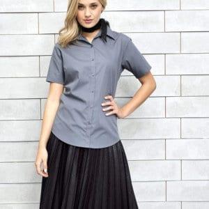 pr302 ladies poplin shirt