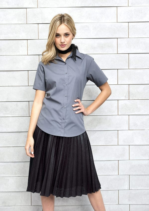 pr302 ladies poplin shirt