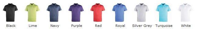 Coolchecker stud polo colours