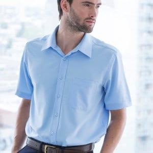 Henbury Wicking antibacterial short sleeve shirt