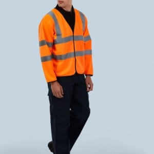 UC802 Long Sleeve waistcoat