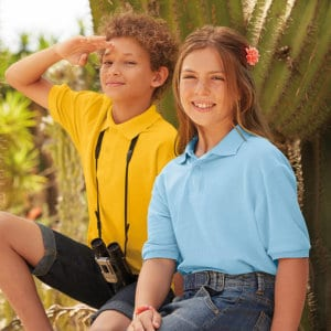 Fruit of the Loom Schoolwear | Embroidered schoolwear