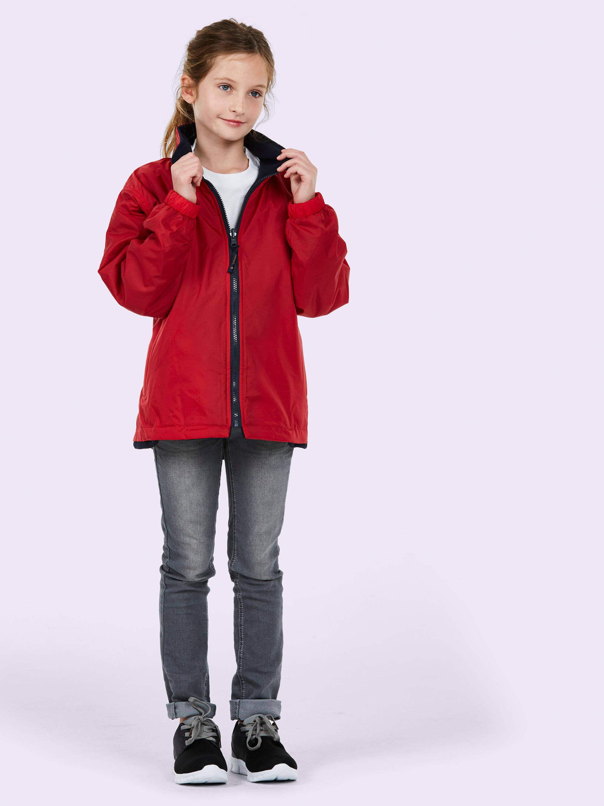 7b8b365ab Uneek Childrens Reversible Fleece
