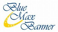 Blue Max Banner logo