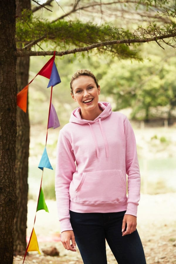 Fruit of the loom ladies hoodie