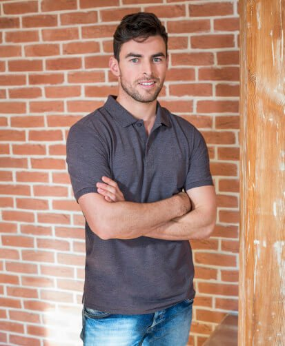 Modern fit polo image 2