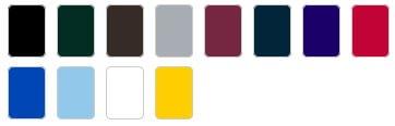 UC103 colours