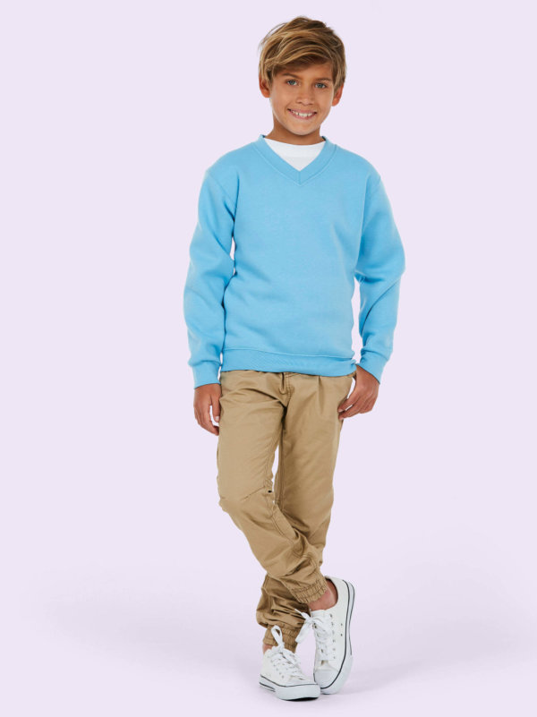 Uneek childrens v neck sweatshirt